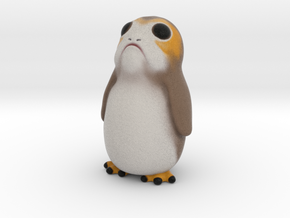 A really tiny Porg - Star Wars in Full Color Sandstone