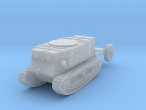 1/72 Little Willie tank in Smooth Fine Detail Plastic