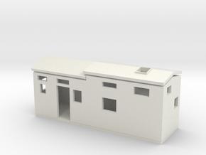 Davis Tiny House in White Natural Versatile Plastic