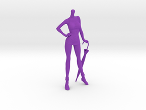 1/10 RC Racing Promotional Model [body only] in Purple Processed Versatile Plastic
