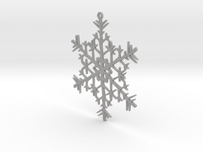 Snowflake Ornament in Aluminum