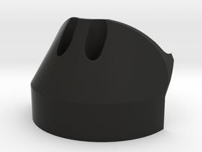 Boosted v2 - Motor Race Caps - MRE (v1.0) in Black Natural Versatile Plastic