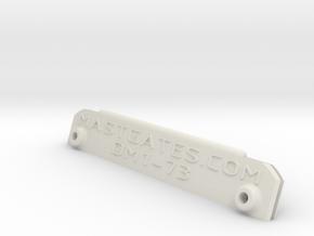 """Potter 15, 2 7/8"""" (Dwyer DM1) ver.10 in White Natural Versatile Plastic"""