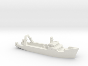 1/1200 Junella Trawler in White Natural Versatile Plastic