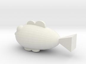 魚的水壺 in White Natural Versatile Plastic