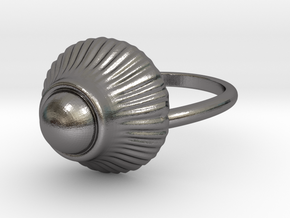 Magic Mushroom in Polished Nickel Steel: 6.5 / 52.75