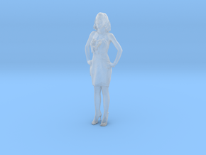 Printle C Femme 025 - 1/120 - wob in Smooth Fine Detail Plastic