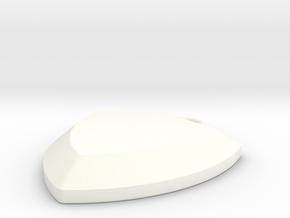 pendant10 in White Processed Versatile Plastic: Large
