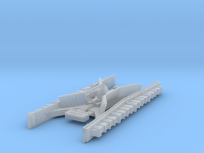 1/2256 Star Destroyer Conning Tower in Smoothest Fine Detail Plastic