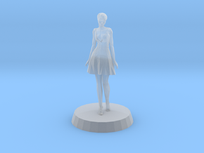 Girl - Standing in Smoothest Fine Detail Plastic