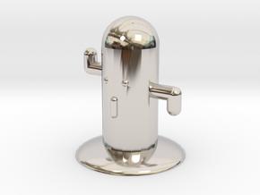 toy item in Rhodium Plated Brass