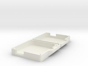 Asus Power Adapter Case in White Natural Versatile Plastic
