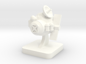 Mini Space Program, Asteroid Base in White Processed Versatile Plastic