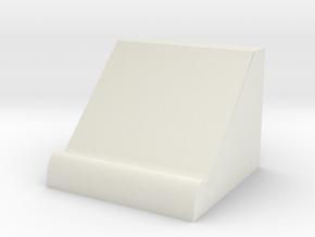 PhoneShelf in White Natural Versatile Plastic