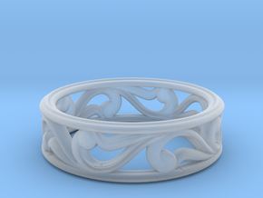 "Bracelet ""Move"" in Smooth Fine Detail Plastic: Small"