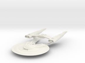 Federation Wolf Class VIII  HvyDestroyer in White Strong & Flexible
