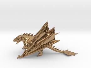 Dragon Model in Polished Brass: Medium