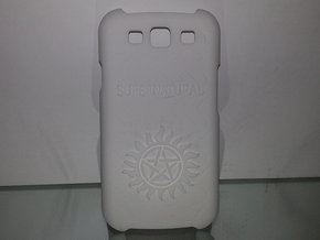 Supernatural Case for Galaxy S3 in White Strong & Flexible Polished