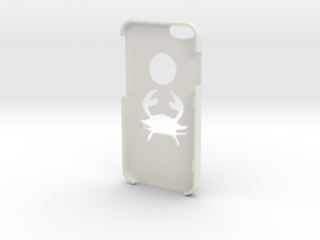 IPhone 6s Cancer Case in White Strong & Flexible