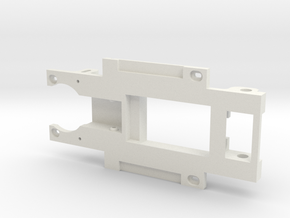 Carrera Universal 132 Chassis for Fly Lola T70 MK3 in White Natural Versatile Plastic