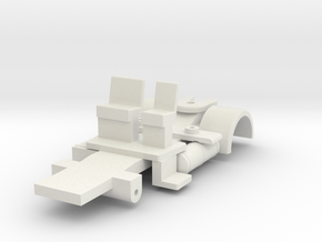 Cossley chassis 120  in White Natural Versatile Plastic