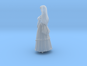 1/18 Lady in Evening Gown  in Smooth Fine Detail Plastic