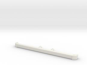 Front bumper D90 D110 SCX10 TRC in White Strong & Flexible