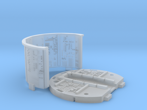 YT1300 BANDAY PG CABIN WALLS in Smooth Fine Detail Plastic