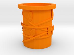 106102344 JJX Potted plants in Orange Processed Versatile Plastic