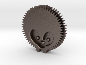 Hedgehog by it's a CYN! in Polished Bronzed Silver Steel: 1:8