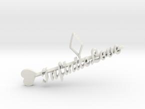 infinite love in White Natural Versatile Plastic