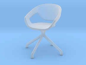 Miniature Vad Swivel Chair - Casamania in Smooth Fine Detail Plastic: 1:12