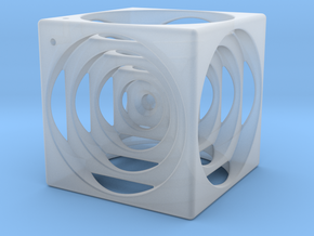 think outside the cube in Smooth Fine Detail Plastic