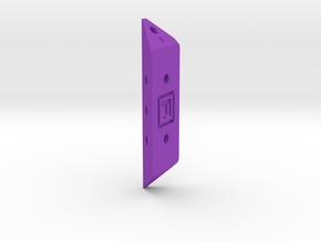 DIY Frebird Puzzle PNN-Single joint GAMMA 30 in Purple Processed Versatile Plastic