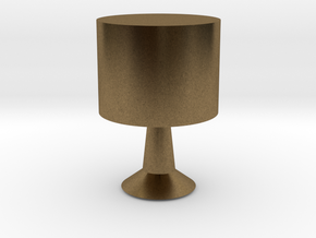 Table lamp in Natural Bronze