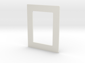 DIY 3.5''x2.5'' Frebird photo frame - Middle in White Natural Versatile Plastic