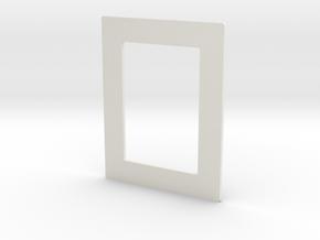 DIY 3.5''x2.5'' Frebird photo frame - Middle in White Natural Versatile Plastic