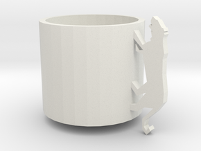 Tiger Cup in White Natural Versatile Plastic