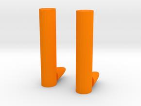 chopsticks in Orange Processed Versatile Plastic