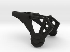 Decu Shoulder Armor in Black Natural Versatile Plastic