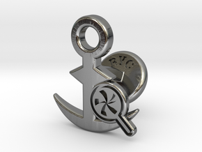 Cufflinks - Do your Rubesty! in Polished Silver