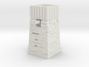 Skarloey Water Tower Type 2 Tomy / Trackmaster in White Natural Versatile Plastic