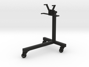 Engine Stand - Type1 - 1/10 in Black Natural Versatile Plastic