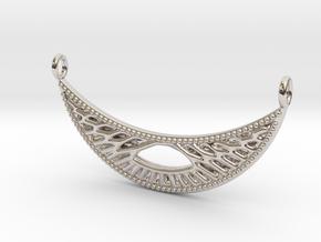 Pendant Voronoi #4B in Platinum