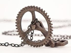 Cycling Necklace in Stainless Steel