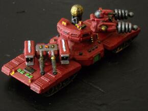 MG144-SV008 Chernobog Command Tank in White Strong & Flexible