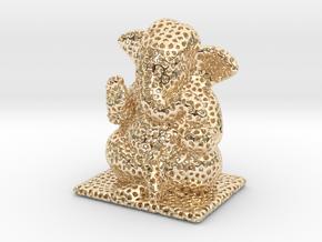 Ganesh Ji Veroni in 14K Yellow Gold