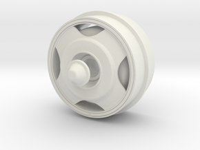 DAF-wheel in White Natural Versatile Plastic