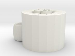 Speaker in White Natural Versatile Plastic