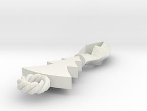 Reel pendant in White Natural Versatile Plastic